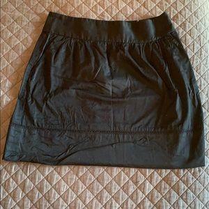 LOFT SZ 4 Black Skirt